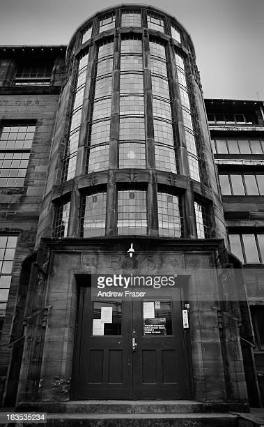 Charles Rennie Mackintosh's Scotland Street School tower, Glasgow, Scotland, 2010
