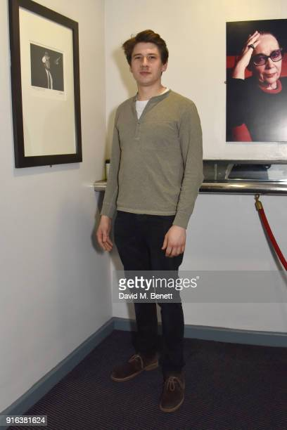 Charles Reston attends the press night after party for 'Again' at Trafalgar Studios on February 9 2018 in London England