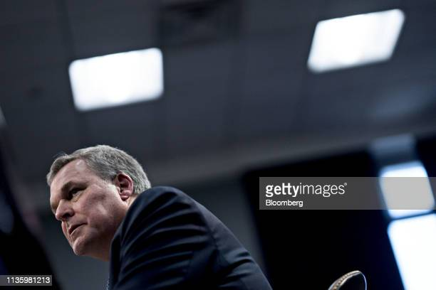 Charles Rettig, commissioner of the Internal Revenue Service , speaks during a House Appropriations Subcommittee hearing in Washington, D.C., U.S.,...