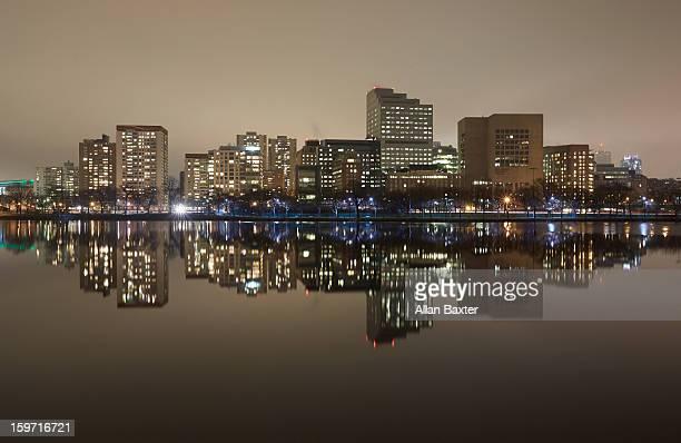 Charles River Basin and Boston skyline