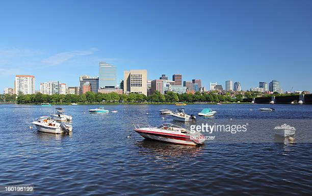 Charles River in Boston City