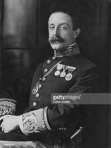 Charles Robert Spencer the 6th Earl Spencer a British Liberal politician and Lord Chamberlain of the Household circa 1910
