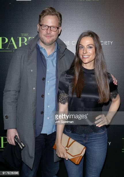 Charles Rockefeller and Ariana Rockefeller attend the screening of 'The Party' hosted by Roadside Attractions and Great Point Media with The Cinema...