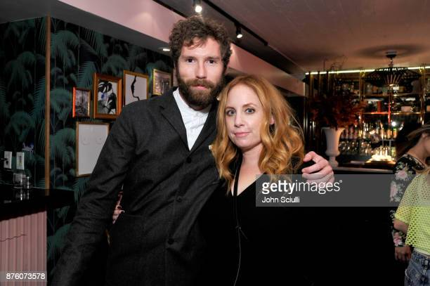 Charles Rogers and Jessica Chaffin at the 'Search Party' cocktail reception during Vulture Festival LA presented by ATT on November 18 2017 in...