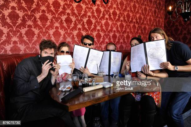 Tony Hernandez and festivalgoers at the 'Search Party' scavenger hunt during Vulture Festival LA presented by ATT on November 18 2017 in Hollywood...