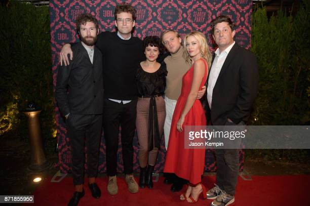 Charles Rogers John Reynolds Alia Shawkat John Early Meredith Hagner and Michael Showalter attend the TBS Comedy Festival 2017 'Search Party'...