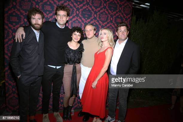 Charles Rogers John Reynolds Alia Shawkat John Early Meredith Hagner and Michael Showalter attend TBS hosts the Season 2 premiere of 'Search Party'...