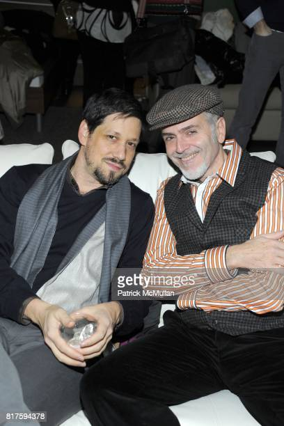 Charles Rosenberg and Jose Socarras attend 8TH ANNUAL BoCONCEPT/KOLDESIGN HOLIDAY PARTY at BoConcept on December 14 2010 in New York City