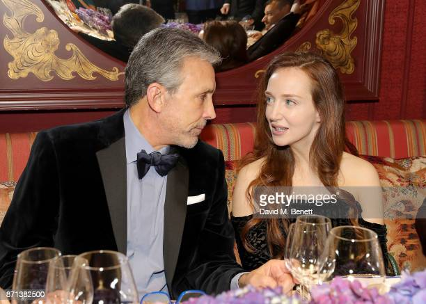 Charles S Cohen and Olivia Grant attend the Richard James 25th Anniversary event hosted by Richard James Charles S Cohen and Sean Dixon at Loulou's...