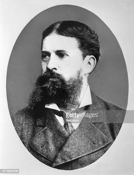Charles Sanders Peirce poses for a portrait A mathematician physicist and philosopher Sanders cofounded pragmatism and did extensive work in the...