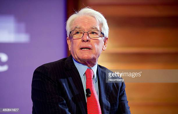 Charles Schwab chairman of Charles Schwab Corp speaks at the Bloomberg Year Ahead 2014 conference in Chicago Illinois US on Wednesday Nov 20 2013...