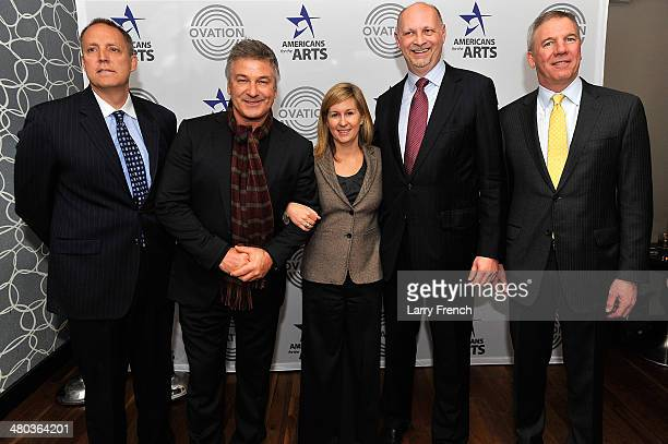Charles Segars CEO Ovation Alec Baldwin actor and arts advocate Rachel Welch Group VP Federal Legislative Affairs Time Warner Cable Joe Waz Senior...