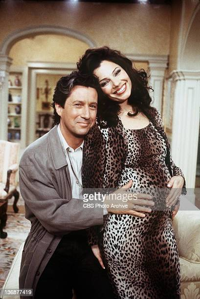 Charles Shaughnessy and Fran Drescher star in The Baby Shower an episode of THE NANNY