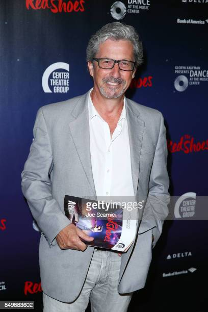 """Charles Shaughnessy arrives at """"The Red Shoes"""" opening night performance at Ahmanson Theatre on September 19, 2017 in Los Angeles, California."""