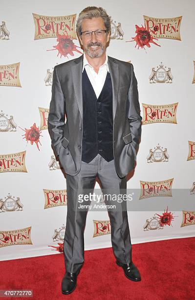 """Charles Shaughnessy attends """"Something Rotten!"""" Broadway opening night at St. James Theatre on April 22, 2015 in New York City."""