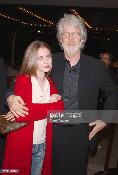 Charles Shyer and daughter Hallie at the special screening of The Affair of The Necklace