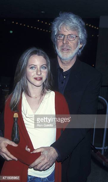 Charles Shyer and Hallie MeyersShyer attend the screening of The Affair of the Necklace on November 20 2001 at Loew's Century Plaza Theater in...