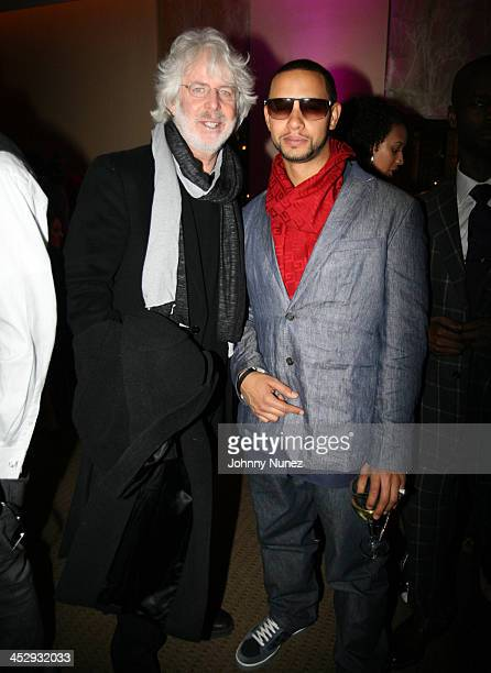 Charles Shyer and Little X attend Bryan Michael Cox's 30th Birthday Party at the W Hotel Union Square December 18 2007 in New York City