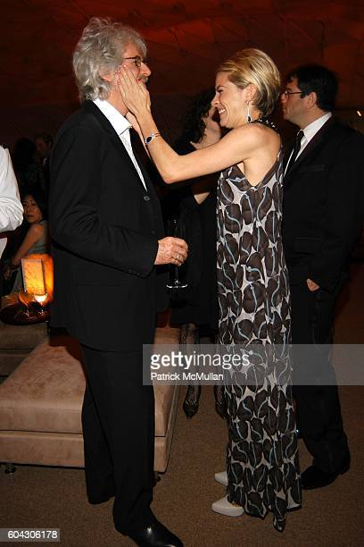 Charles Shyer and Sienna Miller attend Vanity Fair Oscar Party at Morton's Restaurant on March 5 2006