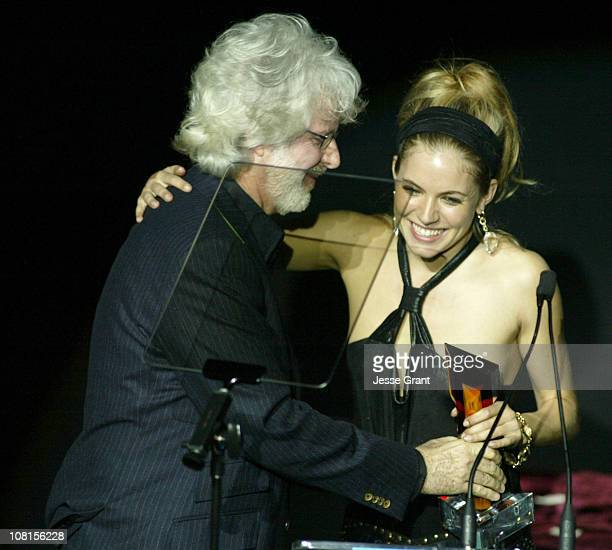 Charles Shyer and Sienna Miller during Hollywood Life's 4th Annual Breakthrough of the Year Awards Show at Henry Fonda Music Box Theatre in Hollywood...
