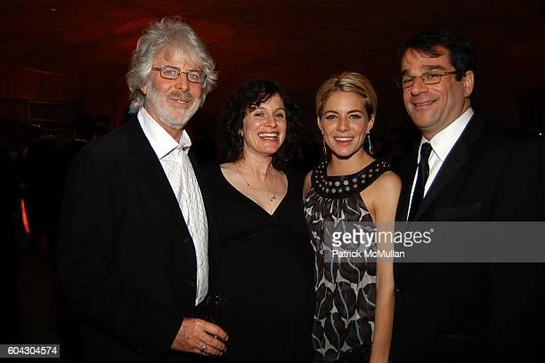 Charles Shyer Deborah LynnShyer Sienna Miller and attend Vanity Fair Oscar Party at Morton's Restaurant on March 5 2006