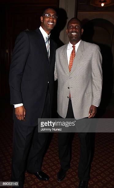 Charles Smith and Albert King attend Legends Legacy A Salute To 100 Years of Change at Gotham Hall on July 15 2009 in New York City