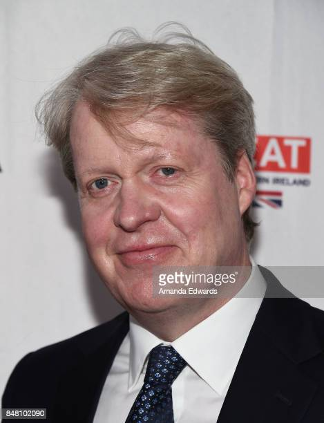 Charles Spencer 9th Earl Spencer arrives at the BBC America BAFTA Los Angeles TV Tea Party 2017 at The Beverly Hilton Hotel on September 16 2017 in...