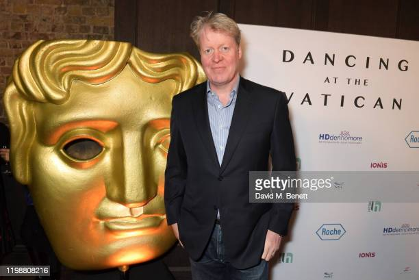 Charles Spencer 9th Earl Spencer attends the UK premiere of Dancing At The Vatican hosted by HDdennmore at BAFTA on February 5 2020 in London England