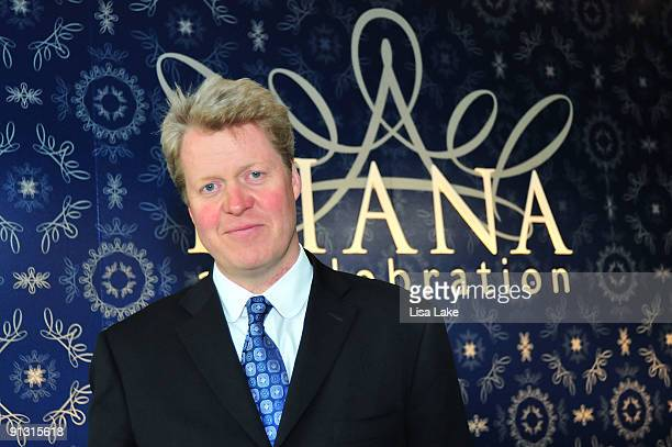 Charles Spencer Princess Diana's brother attends a reception to celebrate Diana A Celebration exhibit at the National Constitution Center on October...