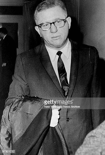 Charles Stein at his loan shark hearing
