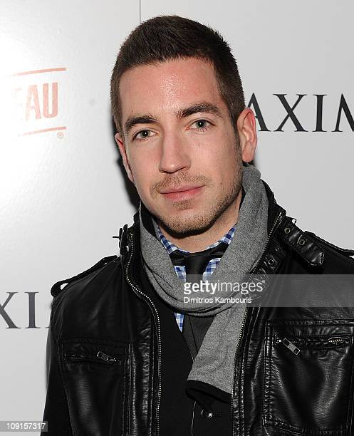 Charles Thorne attends Maxim's March Issue with Michelle Trachtenberg at SL on February 15 2011 in New York City