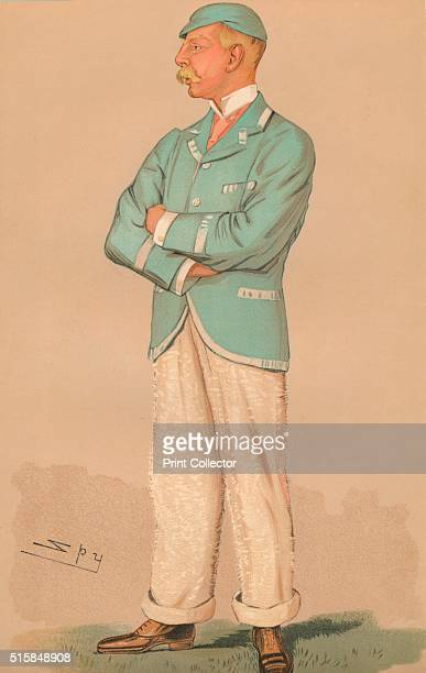 'Charles Thurston FoggElliot' 1894 A portrait of Charles Thurston FoggElliot [Vanity Fair 1894] Artist Sir Leslie Matthew Ward