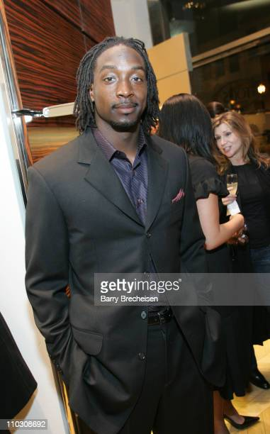 Charles Tillman at TODS 2007 Collection during Laura Linney Hosts TODS 2007 Collection at TODS on 121 East Oak Street in Chicago Illinois United...