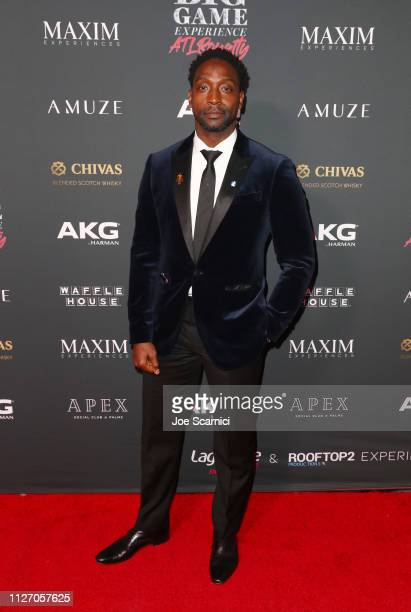 Charles Tillman attends The Maxim Big Game Experience at The Fairmont on February 02 2019 in Atlanta Georgia