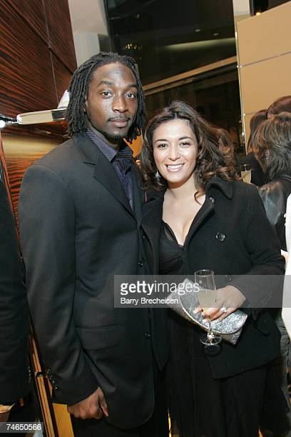 Charles Tillman Jackie Tillman at TODS 2007 Collection at the TODS on 121 East Oak Street in Chicago Illinois