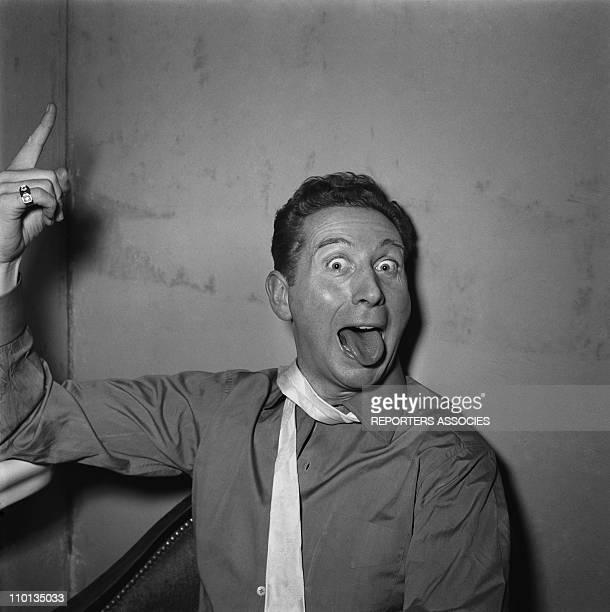 Charles Trenet in 1950's.