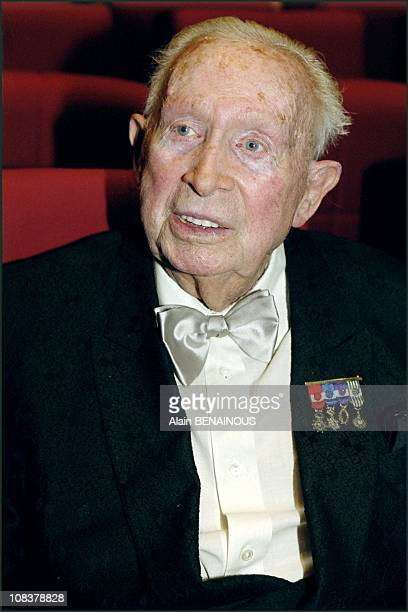 Charles Trenet in Paris France on October 24 2000