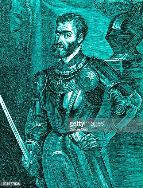 Charles V portrait of Holy Roman emperor 24 February 1500 21 September 1558 Known as Carlos I de Espa–a y V de Alemania in Spain After portrait by...