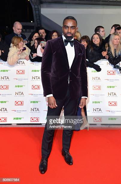 Charles Venn attends the 21st National Television Awards at The O2 Arena on January 20 2016 in London England