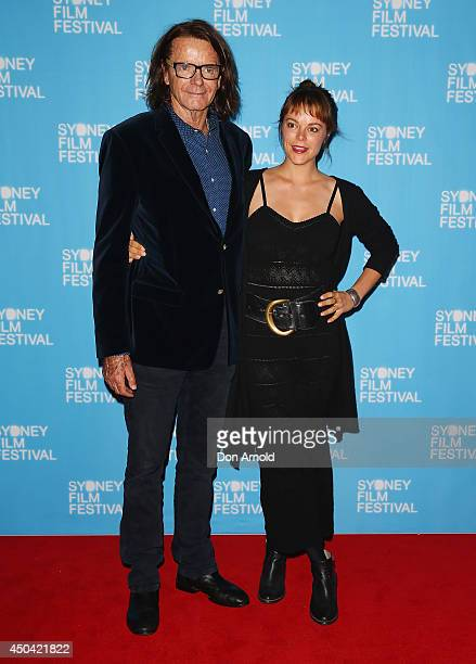 """Charles Waterstreet and Matilda Brown pose at the Australian premiere of the """"The Last Impresario"""" during the Sydney Film Festival on June 11, 2014..."""
