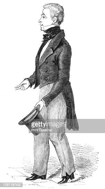 Charles Waterton, esq., 1844. Portrait of British conservationist, naturalist and explorer Charles Waterton, who described himself thus: 'On looking...