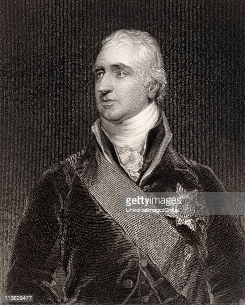 Charles Whitworth 1st Earl Whitworth 1752 to 1825 British diplomatist and politician Engraved by H Robinson after Sir T Lawrence From the book...