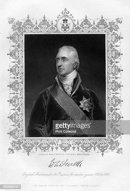Charles Whitworth Viscount Whitworth 19th century English ambassador to Russia for twelve years 17881800