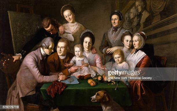 Charles Willson Peale's 17411827 depiction of his family was the most ambitious portrait undertaken by a colonial American artist up to that time...