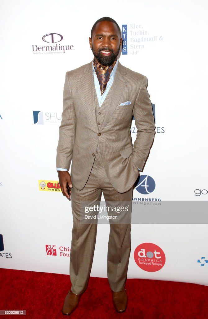 Charles Woodson at the 17th Annual Harold & Carole Pump Foundation Gala at The Beverly Hilton Hotel on August 11, 2017 in Beverly Hills, California.
