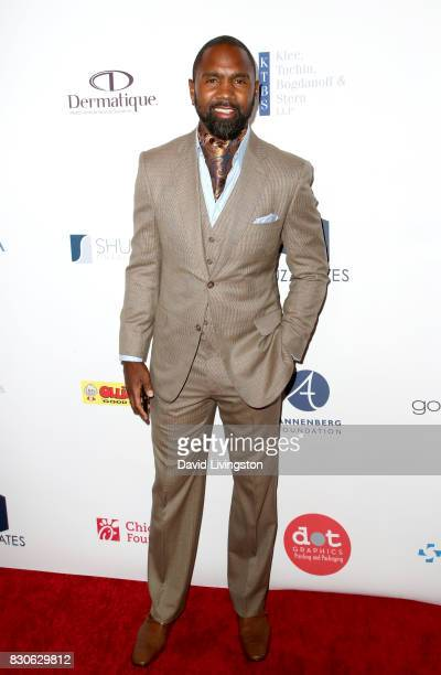 Charles Woodson at the 17th Annual Harold Carole Pump Foundation Gala at The Beverly Hilton Hotel on August 11 2017 in Beverly Hills California