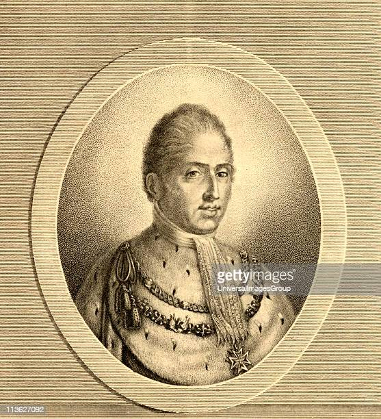 Charles X also called CharlesPhilippe Comte D'Artois byname Monsieur king of France from 1824 to 1830 Photoetching after the painting by Charles From...