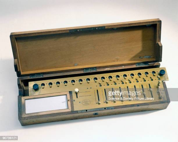 Charles X Thomas de Colmar invented his Arithmometer in 1820 In the 1860s it became the first commercially successful calculating machine and could...