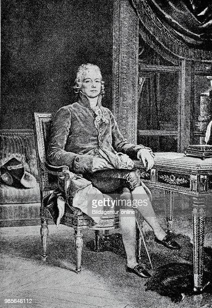 CharlesMaurice de TalleyrandPerigord February 2 1754 May 17 was one of the most famous French statesmen and diplomat during the French Revolution the...