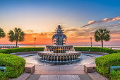 Charleston, South Carolina, USA Fountain